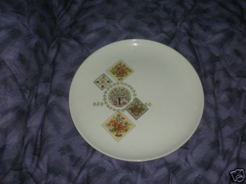 Taylor Smith Taylor Brocatelle 4 Dinner Plates