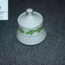 Crown Ming Holly 1 Sugar Dish with Lid