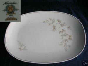 "Noritake Belda 1 Oval Serving Platter - 15 3/8"""