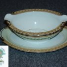 Noritake Bassano 1 Gravy Boat with Attached Underplate