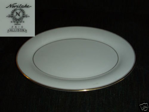 "Noritake Allison 1 Oval Serving Platter - 14 1/8"""