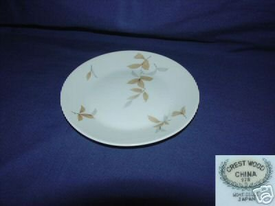 Crest Wood China Monticello 7 Bread and Butter Plates