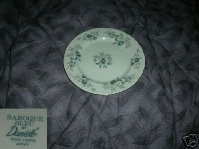 Daniele Baroque Bleu 4 Bread and Butter Plates