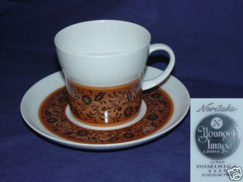 Noritake Dominica 1 Cup and Saucer Set