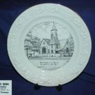 First Presbyterian Church Franklinville, NY Plate