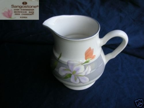 Sango Chanson 1 Cream Pitcher ( Creamer )