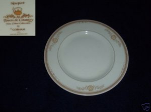 Gorham Newport 3 Bread and Butter Plates