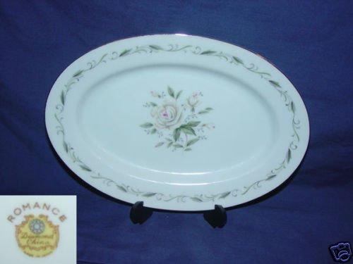 Diamond Romance 1 Relish Dish or Small Oval Platter