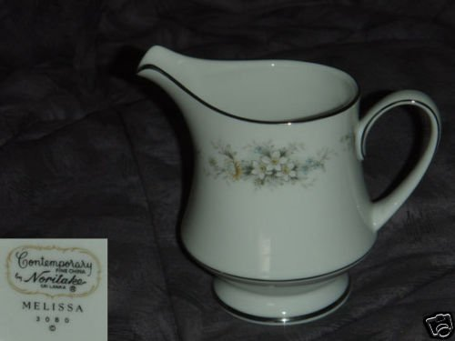 Noritake Melissa 1 Cream Pitcher ( Creamer )