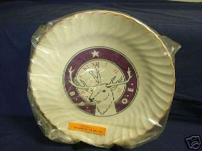 Elks B. P. O .E. Lodge 294 Plate