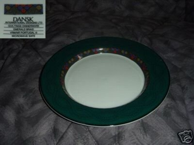Dansk Emerald Braid 7 Salad Plates