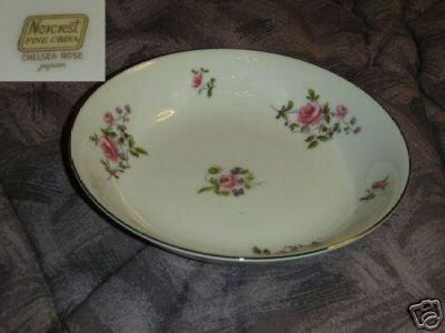 Norcrest Chelsea Rose 4 Fruit Bowls