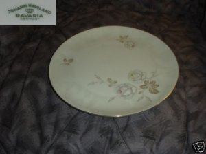 Johann Haviland Dawn Rose 4 Bread and Butter Plates
