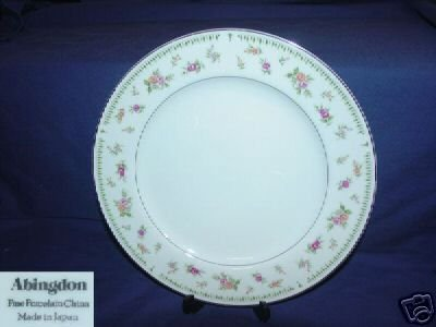 Japan China Abingdon 5 Bread and Butter Plates