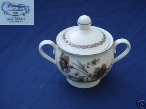 Noritake New Castle 1 Sugar Dish ( Bowl ) with Lid