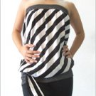 RM 35 Striped Long Tube