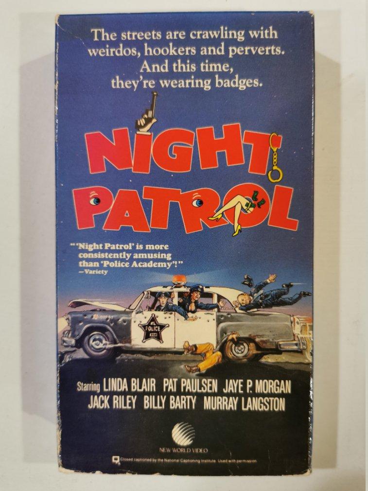 VHS - Night Patrol (Linda Blair) - Used