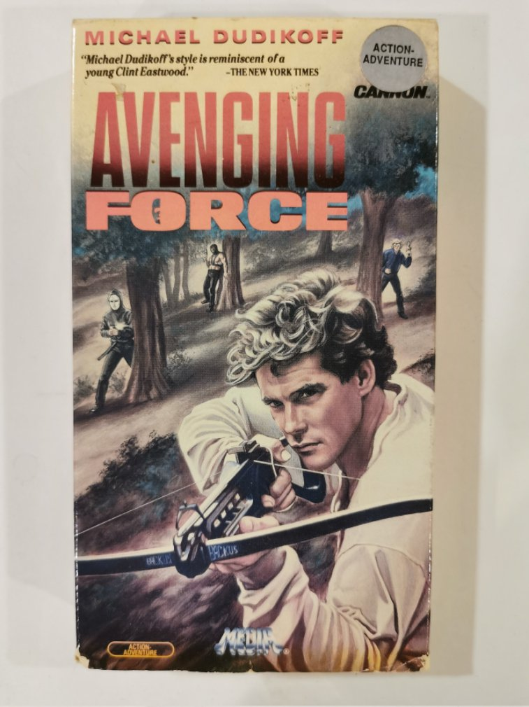 VHS - Avenging Force (Michael Dudikoff) - Used