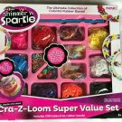 Cra-Z-Loom Super Value Set - Includes 2100 latex free rubber bands.