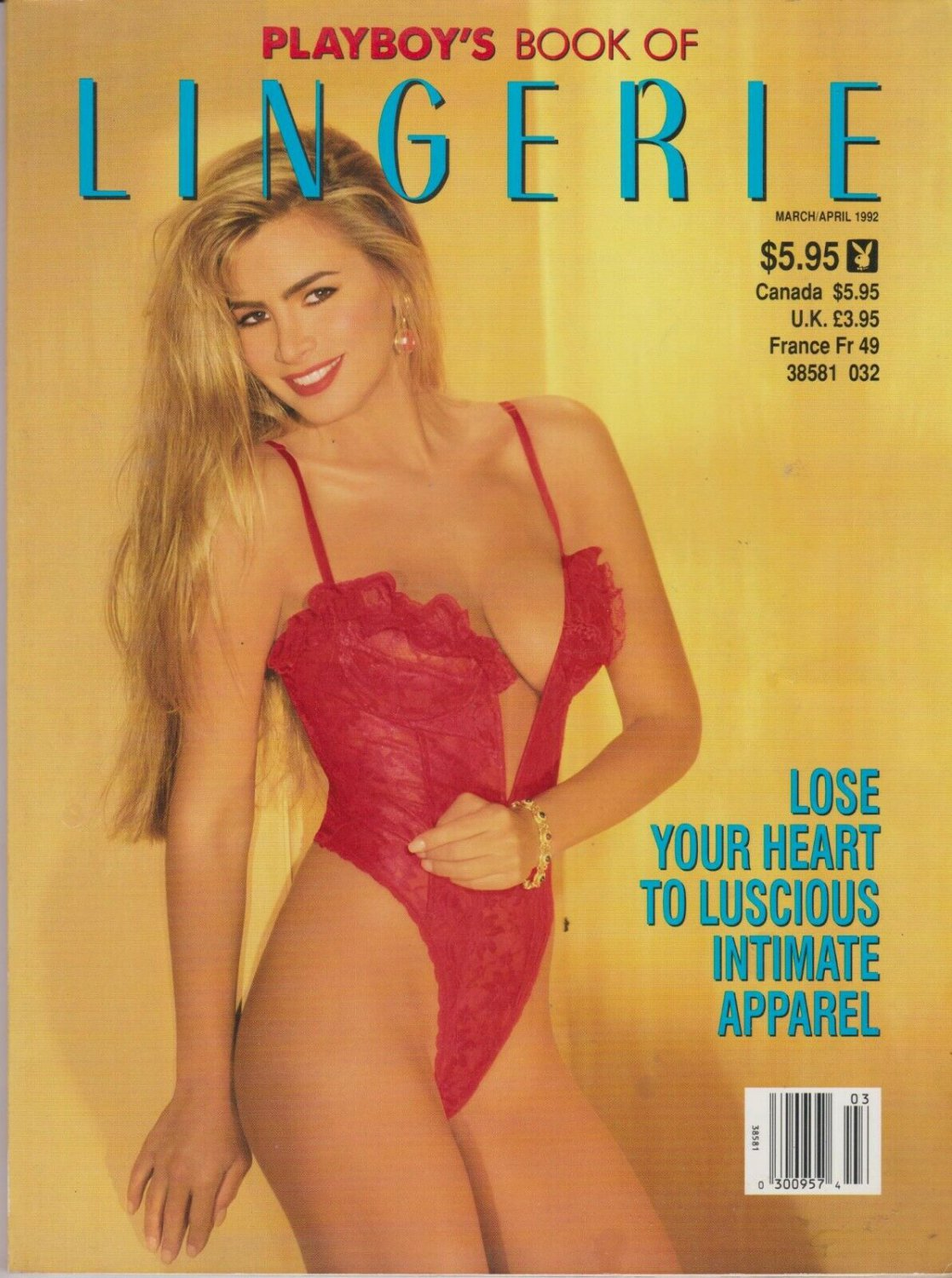 Playboy Supplement Magazine - PLAYBOY'S BOOK OF LINGERIE MARCH/APRIL 1992