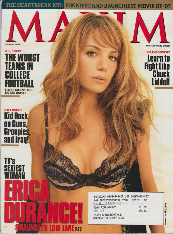 MAXIM Magazine #118 OCTOBER 2007-A -Erica Durance Audrina Patridge Malin Akerman