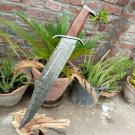 Custom Hand Forged Amazing Damascus Steel Sword With Sheath In Free shipping to United States