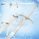 Glamdring Sword of Gandalf with White Leather Handle Replica of (Lord Of the Ring Movie)