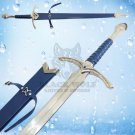 Glamdring Sword of Gandalf with Blue Leather handle Replica of Lord of the Ring Movie