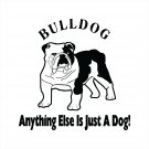 Bulldog Vinyl Decal Vinyl Sticker Bull Dog Decal Sticker Cut Vinyl Car