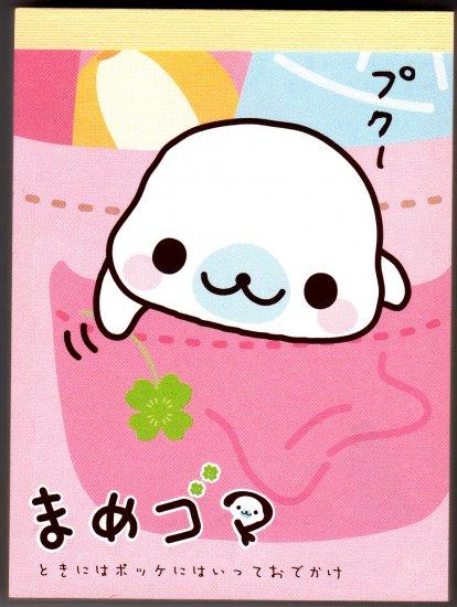 Japan San-X Mamegoma Mini Memo Pad (A)