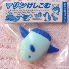 Japan Iwako Sea Animals Collection Fish 3D Eraser