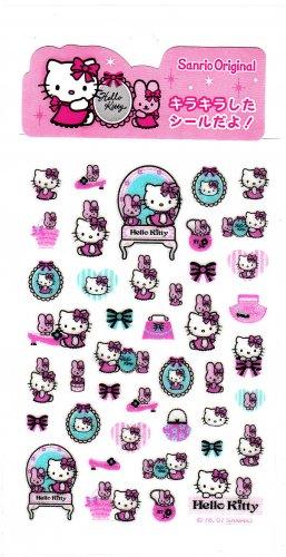 Sanrio Japan Hello Kitty Dress Up Sticker Sheet Kawaii