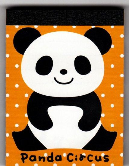 Q-Lia Japan Panda Circus Mini Memo Pad Kawaii