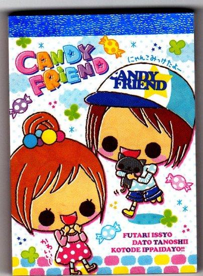 Crux Japan Candy Friend Mini Memo Pad Kawaii