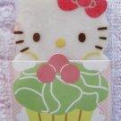 Sanrio Japan Hello Kitty Cupcake Diecut Eraser (A) Kawaii