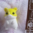 Iwako Japan Hamster Diecut Eraser (Yellow) Kawaii