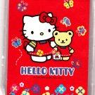 Sanrio Japan Hello Kitty and Bear Memo Pad with Stickers Kawaii
