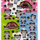 Very Berry Japan Hello My Dear Bear Puffy Sticker Sheet Kawaii
