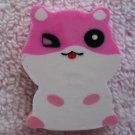 Lemon Japan Hamster Diecut Eraser (Pink) Kawaii