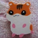 Lemon Japan Hamster Diecut Eraser (Orange) Kawaii