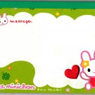 Crux Japan Sweet Minichan Memo Pad Kawaii