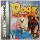 Game Boy Advance GBA Dogz Fashion Video Game by Ubisoft New Sealed