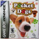 Game Boy Advance GBA Pocket Dogs Video Game
