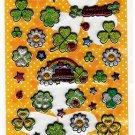Very Berry Japan Hello Clover Puffy Sticker Sheet Kawaii