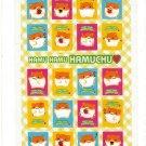 Sun Star Japan Hamu Hamu Hamuchu Hamster Sticker Sheet (C) Kawaii