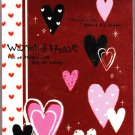 Crux Japan Warming Heart Mini Memo Pad Kawaii