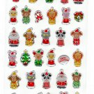 Active Japan Merry Christmas Puppets Sticker Sheet Kawaii
