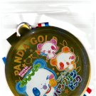 Crux Japan Panda Gold Medal-Shaped Sticker Pack Kawaii