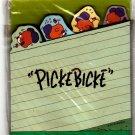 Sanrio Japan Picke Bicke Diecut Memo Pad 1995 Rare Kawaii