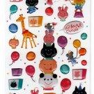 Mind Wave Japan Animal Circus Sticker Sheet Kawaii